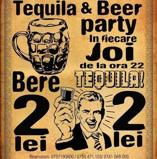 Tequila & Beer Party