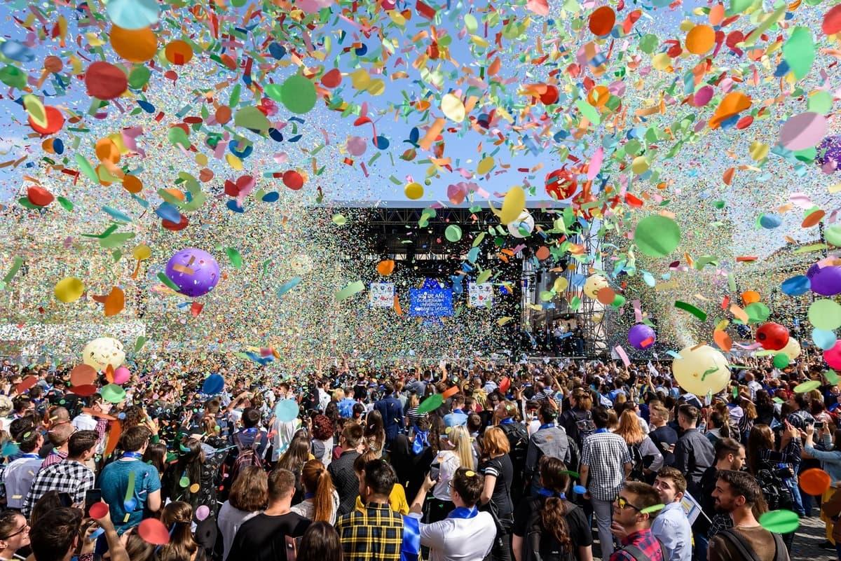 Zilele Clujului 2019: Peste 300.000 de participanți, clujeni și turiști, s-au bucurat de cele 4 zile de festival