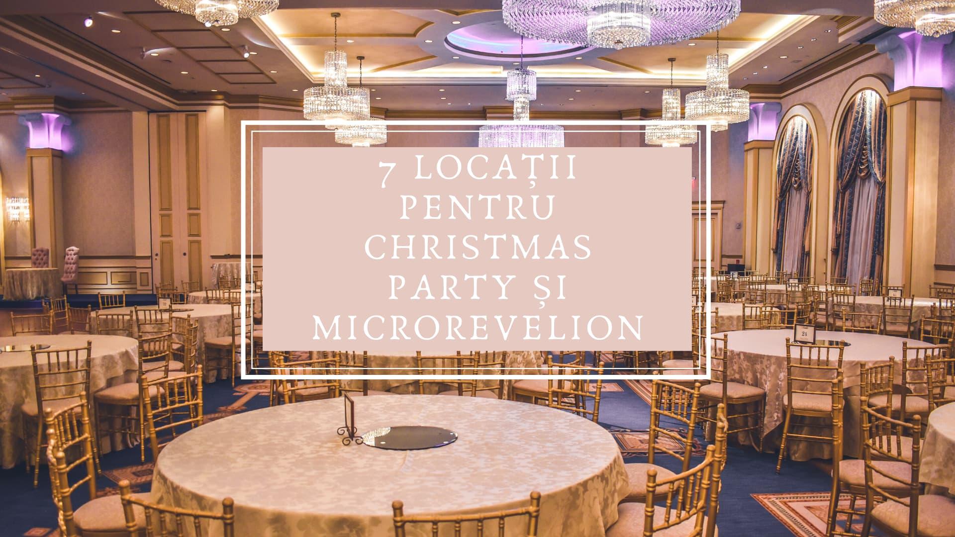 7 locuri din Cluj unde poți organiza un eveniment corporate de Crăciun și Revelion