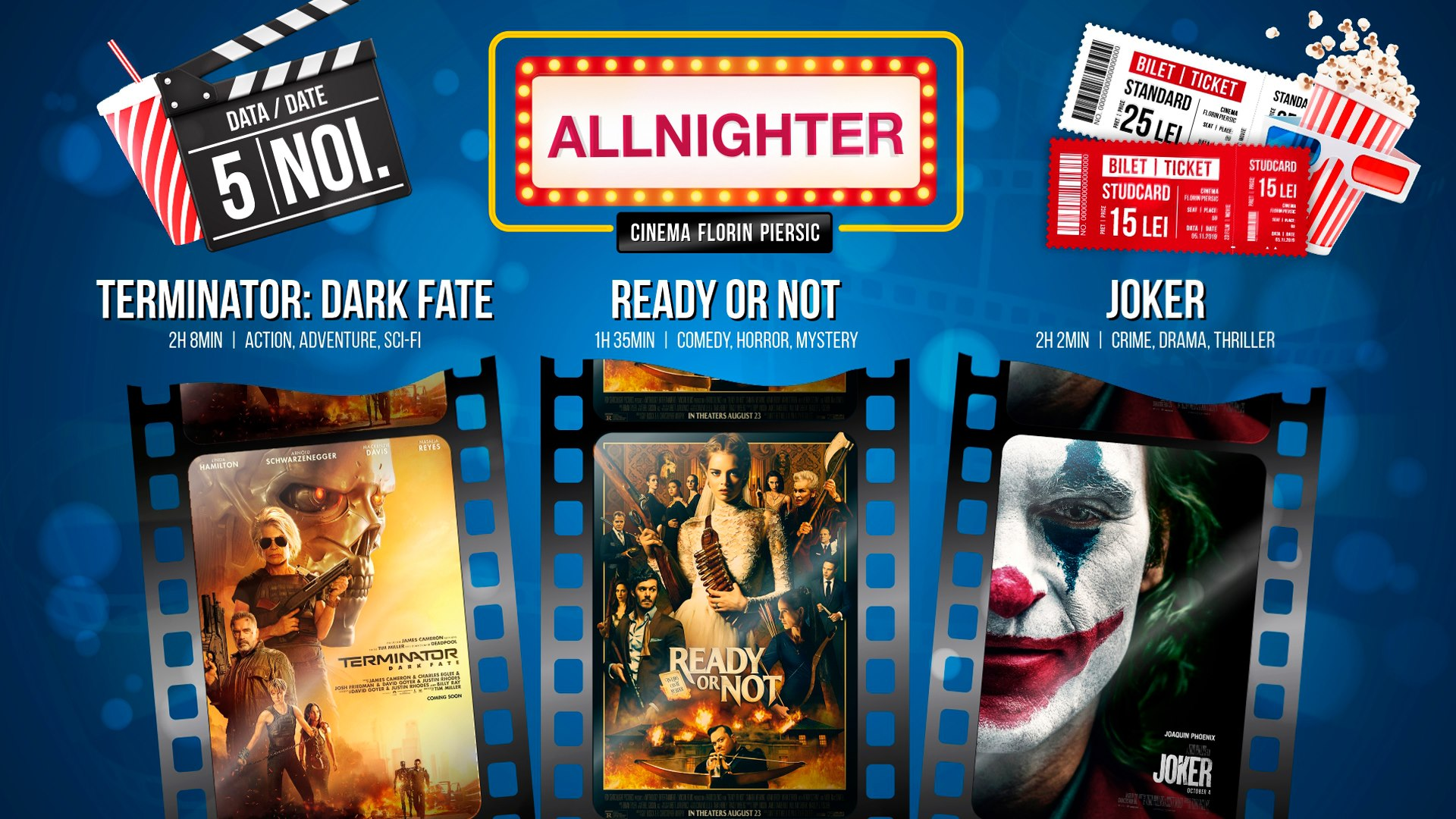 Allnighter– Maraton de filme
