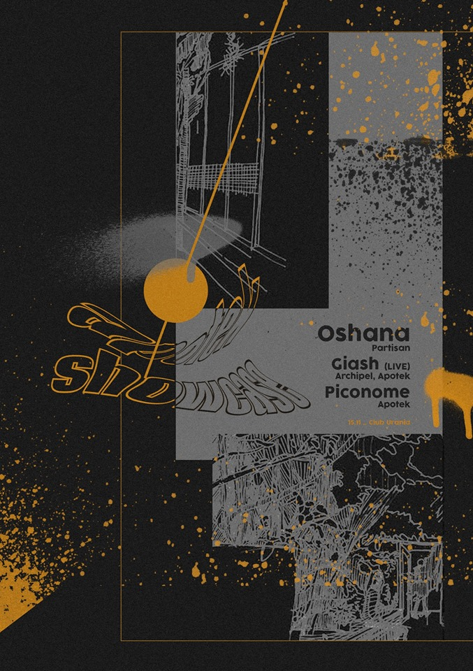 Apotek Showcase w/ ● Oshana ● Giash [Live] ● Piconome