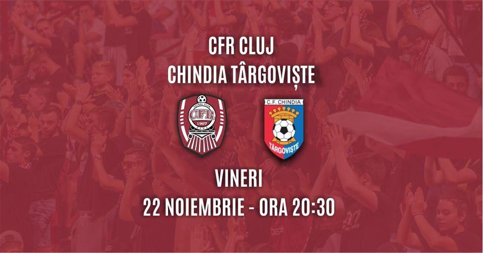 CFR Cluj – Chindia Târgoviște