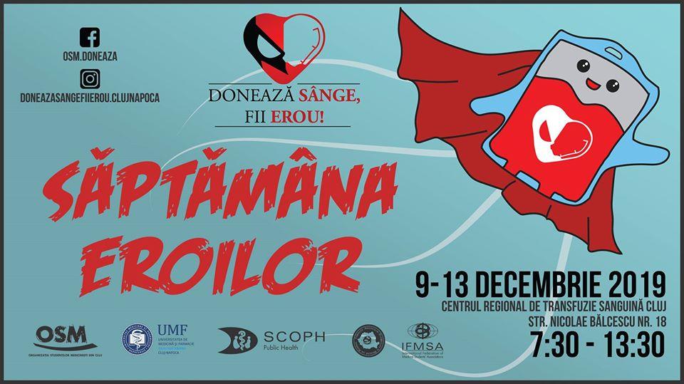 Campania națională Donează sânge, fii erou!
