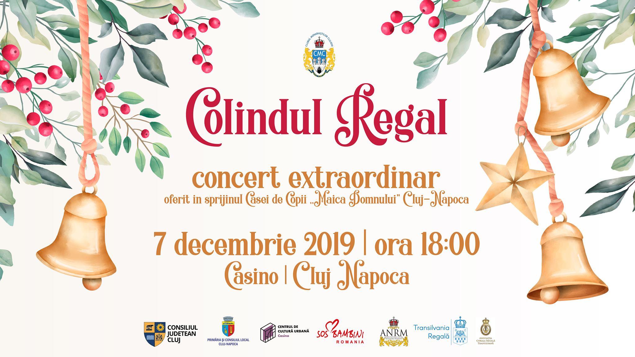 Concert Caritabil: Colindul Regal 2019