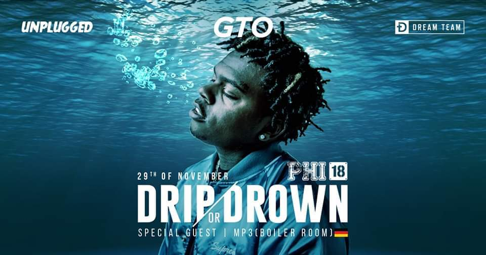 DRIP OR DROWN – HipHop Trap Party