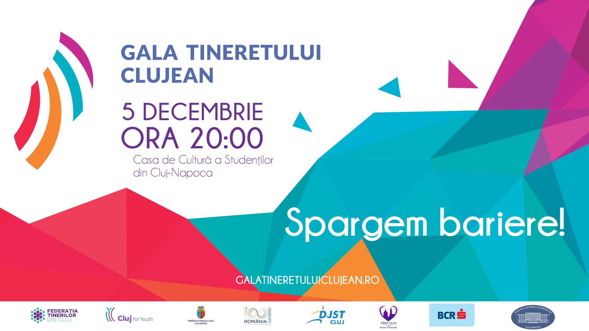 Gala Tineretului Clujean 2019