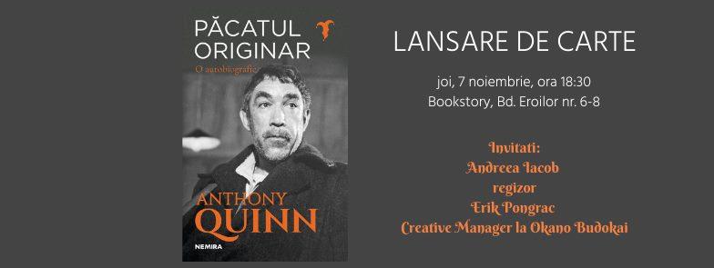 Păcatul originar – Lansare de carte