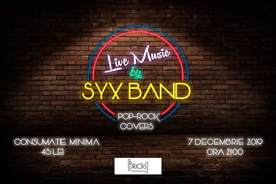 Pop – Rock Covers Night – SYX Band