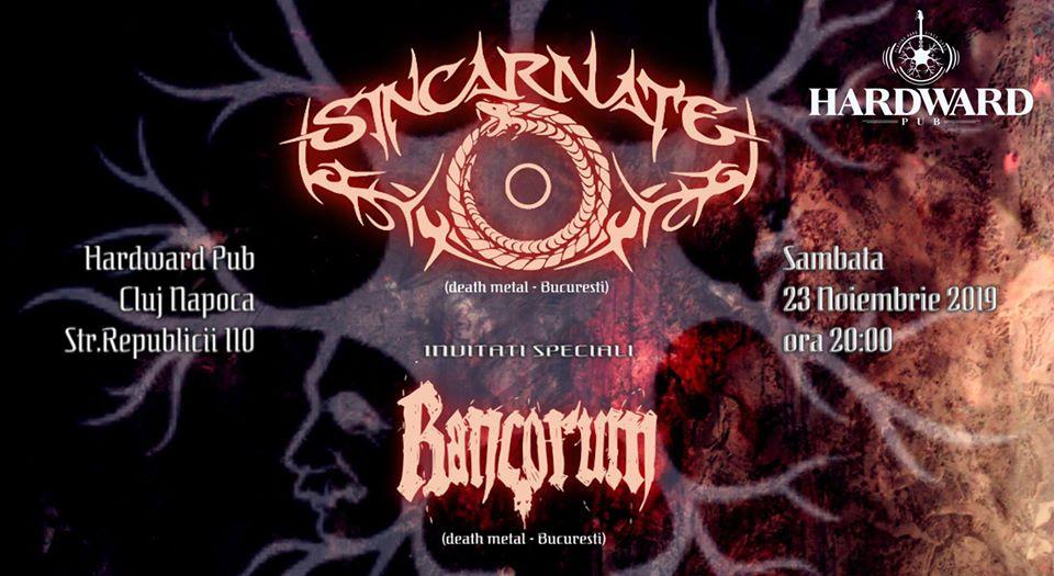 Sincarnate + Rancorum Live @ Hardward Pub