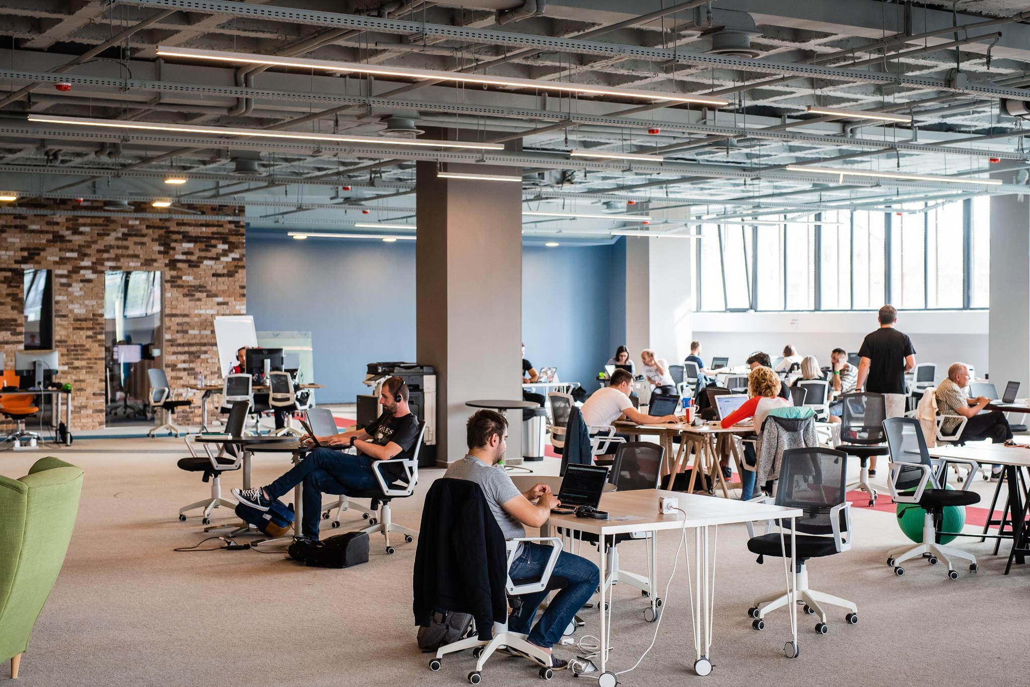 Hub-urile din Cluj-Napoca, birourile oamenilor moderni