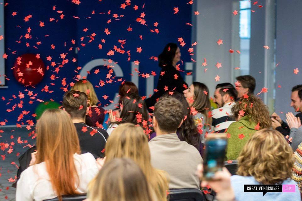 CreativeMornings Cluj December – 2 years anniversary