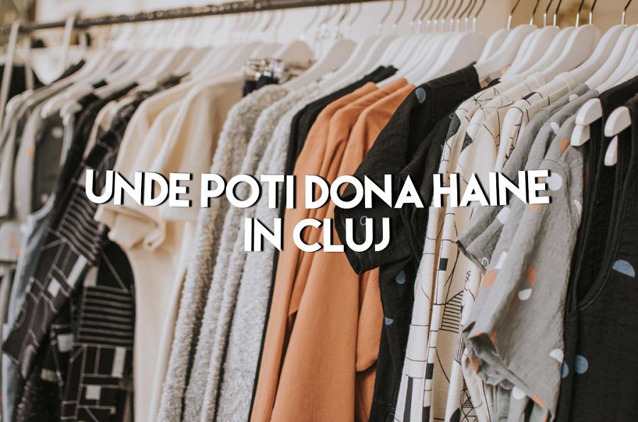 Unde poți dona haine în Cluj