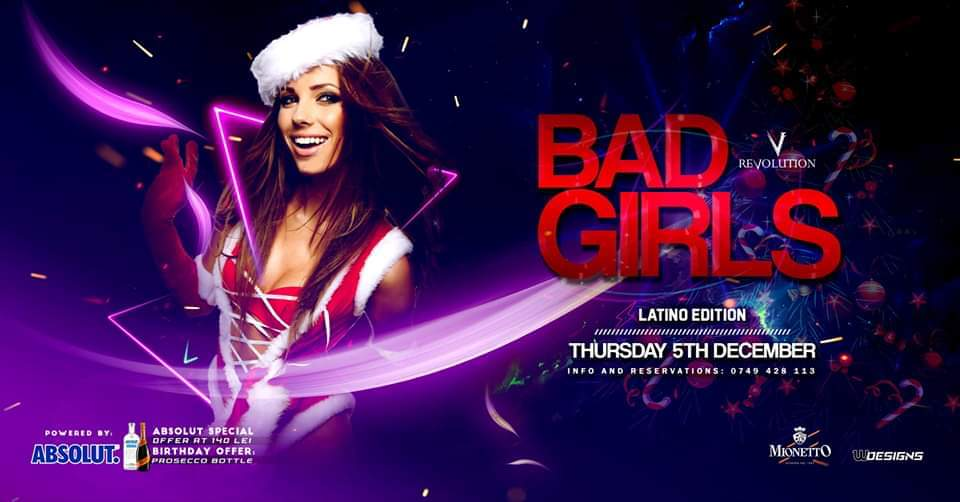 Latino Night | Bad Girls Edition
