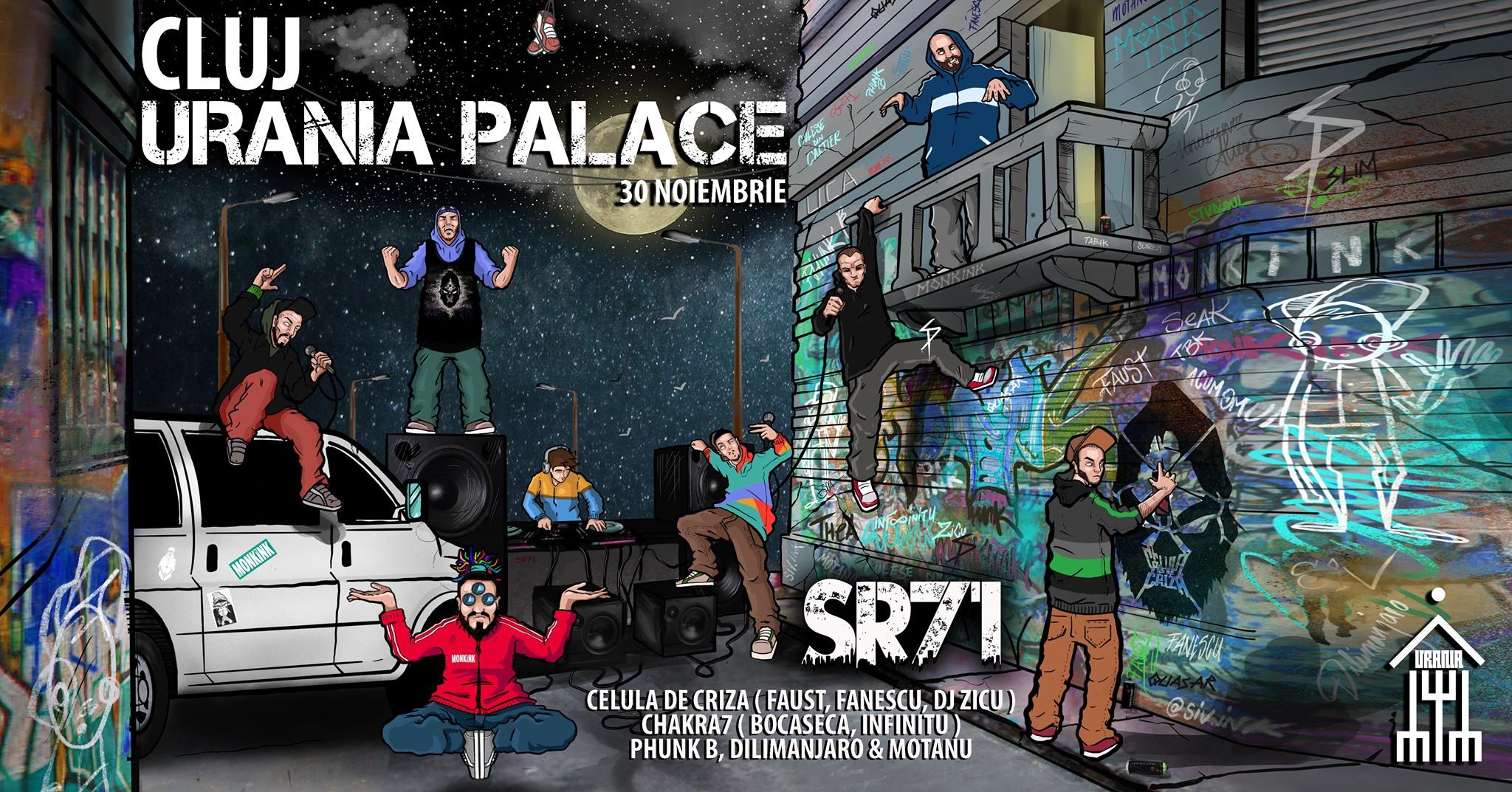 Concert sr71 HIP HOP 100% @ Urania Palace