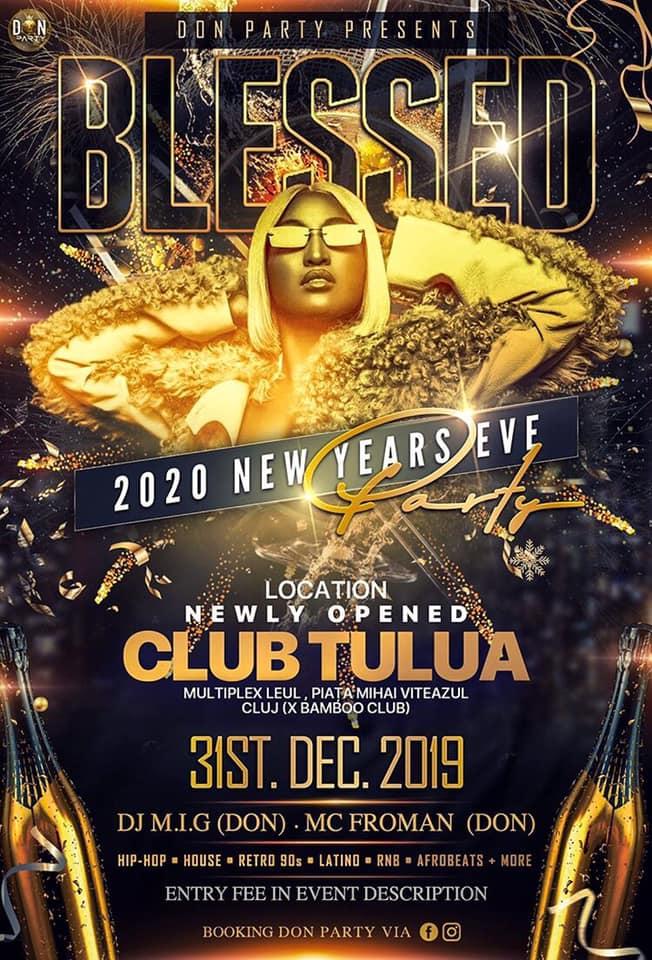 B L E S S E D  | 2020 New Year Eve