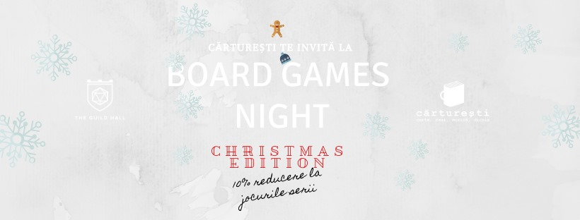 Board Games Night @ Cărturești Platinia