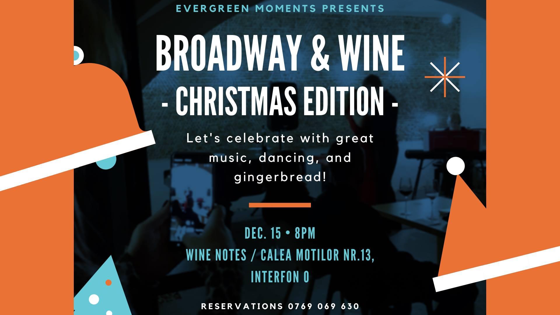 Broadway & Wine – Christmas Edition-