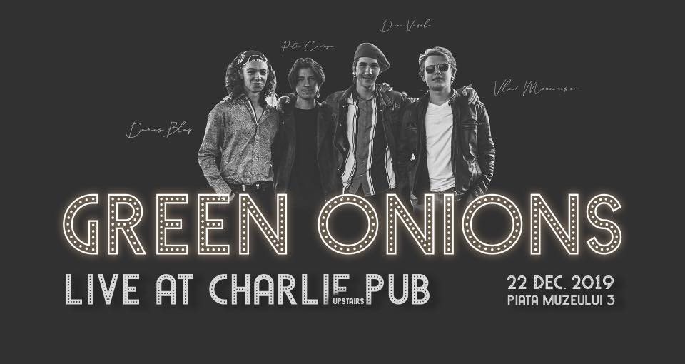 Green Onions Live At Charlie Pub
