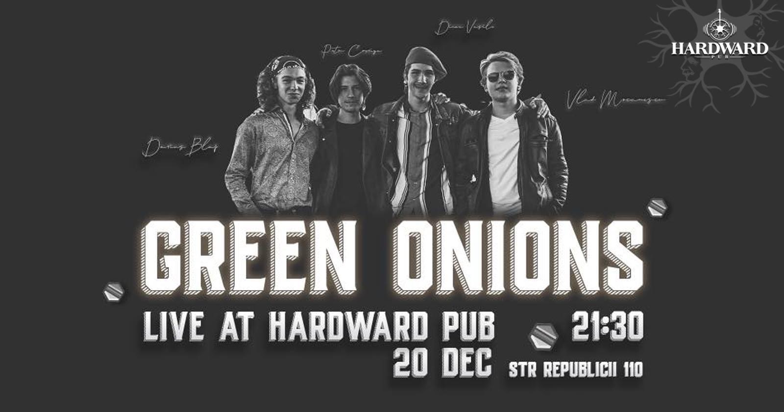 Green Onions Live at Hardward Pub