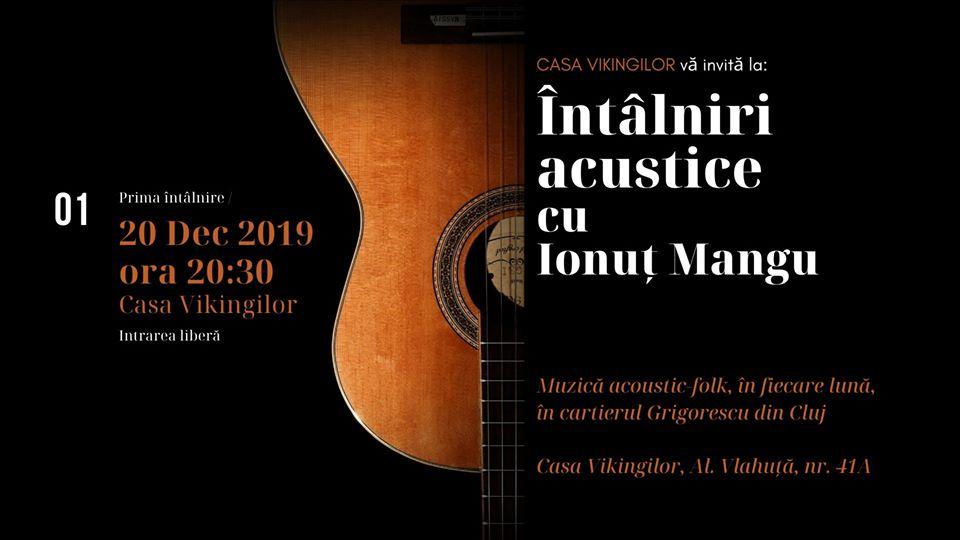 Intalniri acustice cu Ionut Mangu