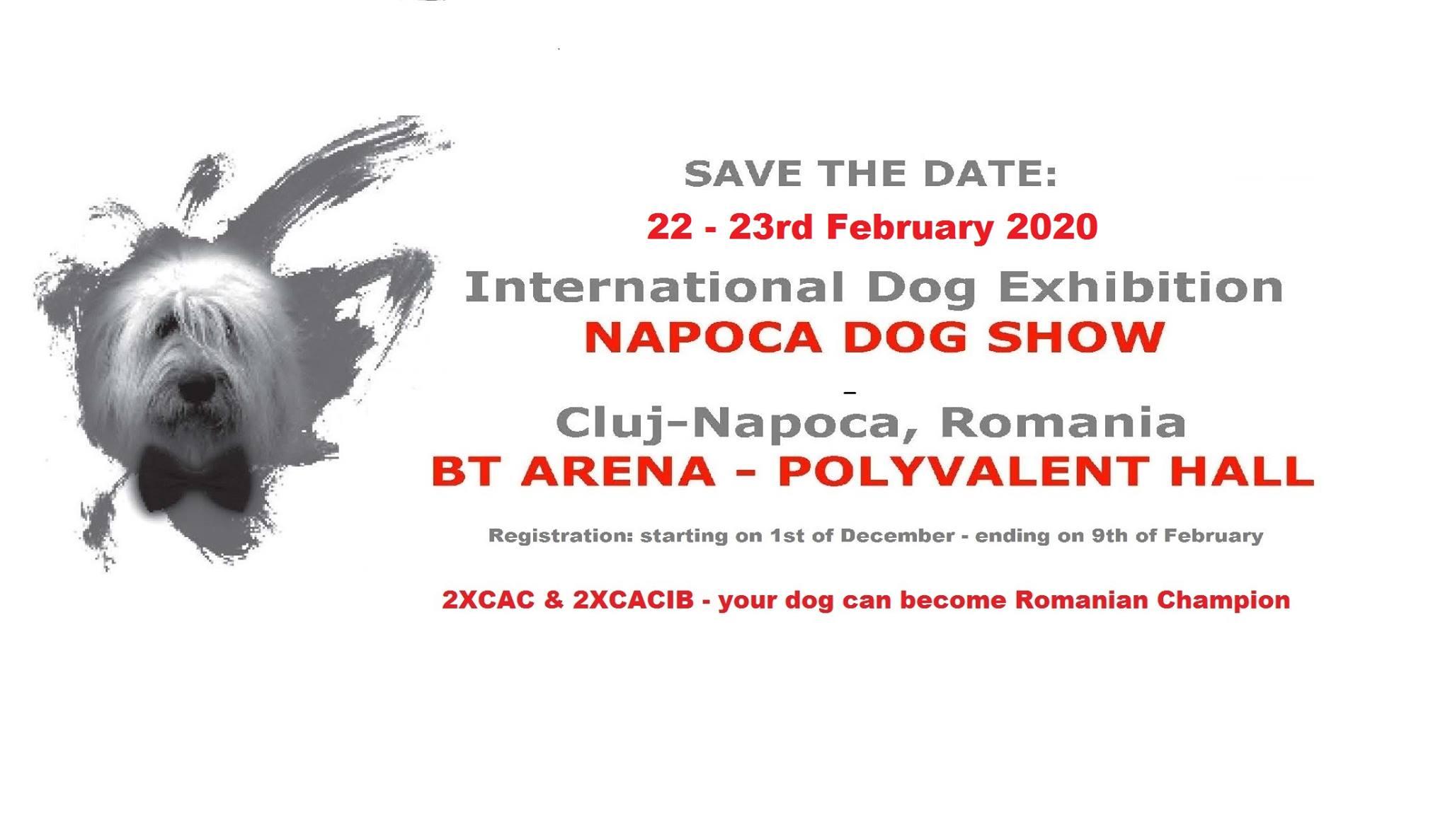 Napoca Dog Show @ BT Arena
