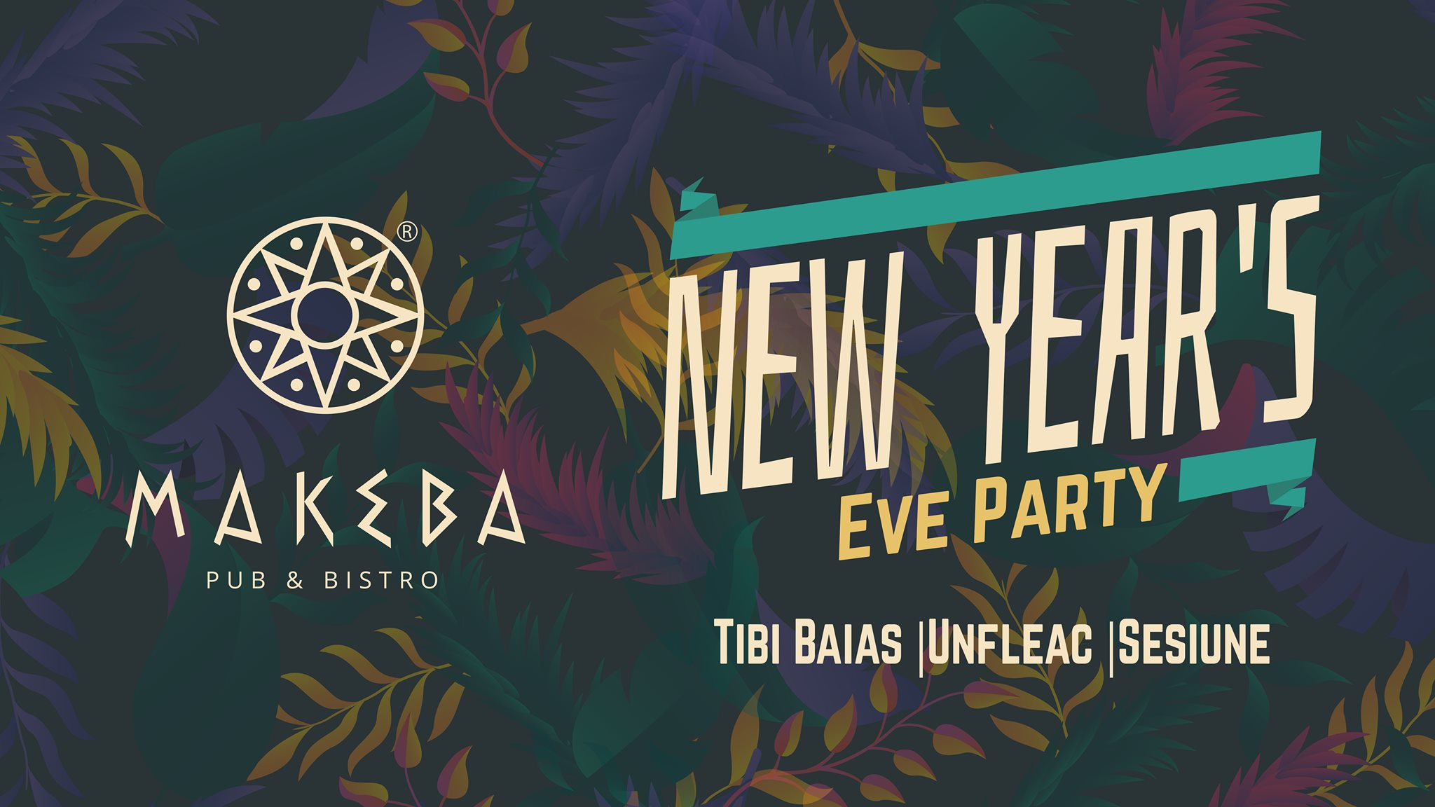 New Year`s Eve Party @ Makeba