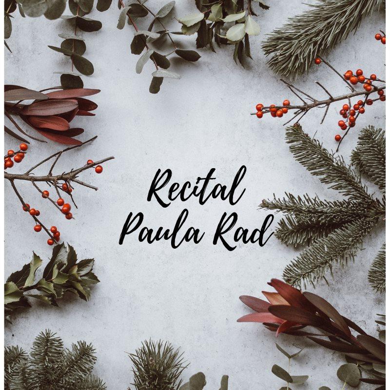 Recital de Crăciun Paula Rad