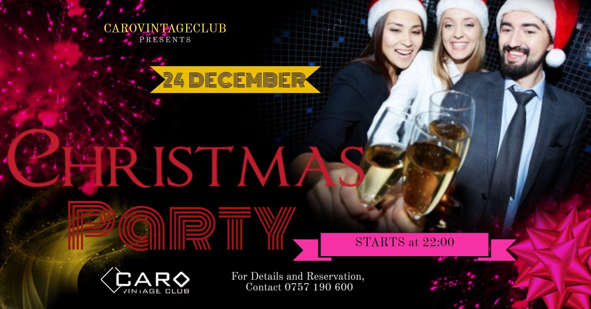 CARO Christmas PARTY
