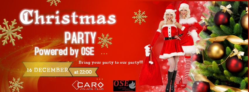 Christmas PARTY powered by OSE