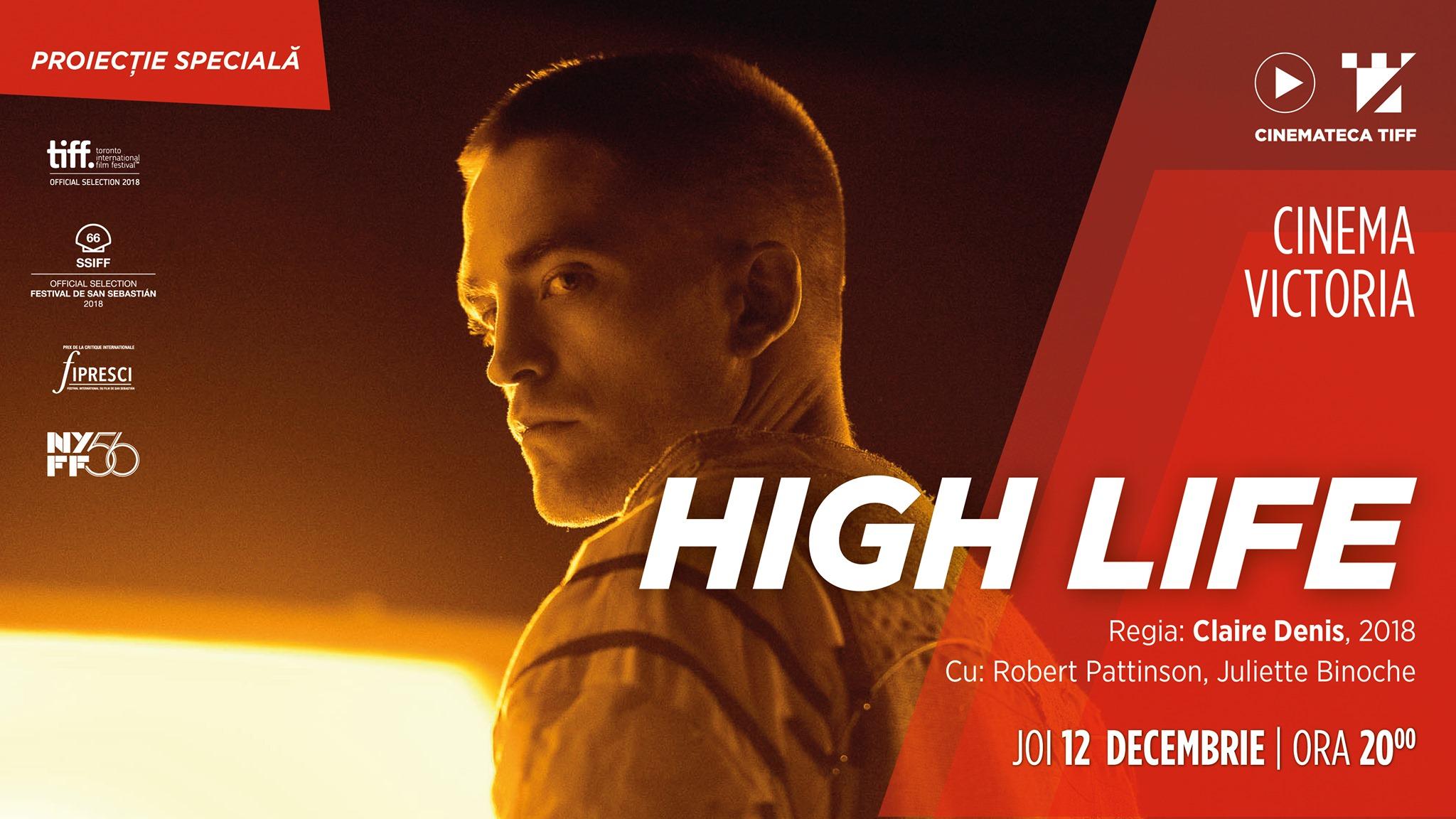 High Life   Proiectie Speciala – Cinemateca TIFF