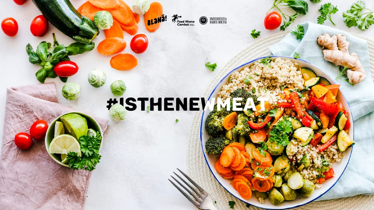 #IsTheNewMeat: O masă mai sănătoasă de sărbători
