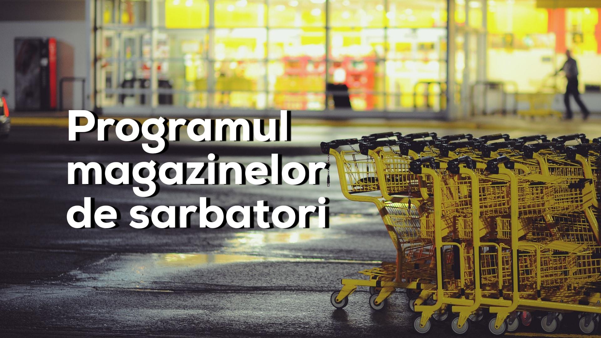 Programul mall-urilor și hypermarket-urilor din Cluj de Crăciun și Revelion