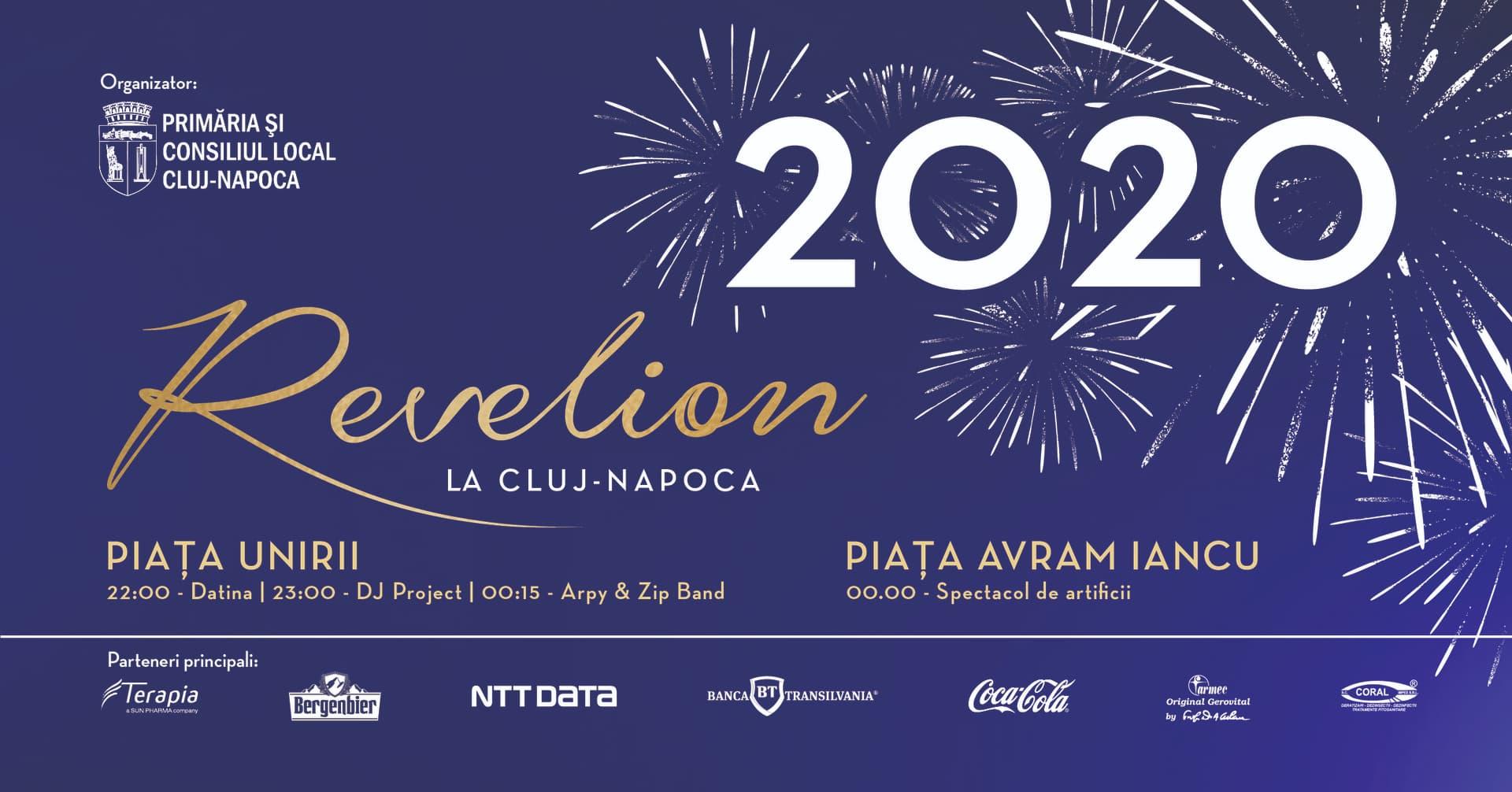 Revelion 2020 în inima orașului Cluj-Napoca
