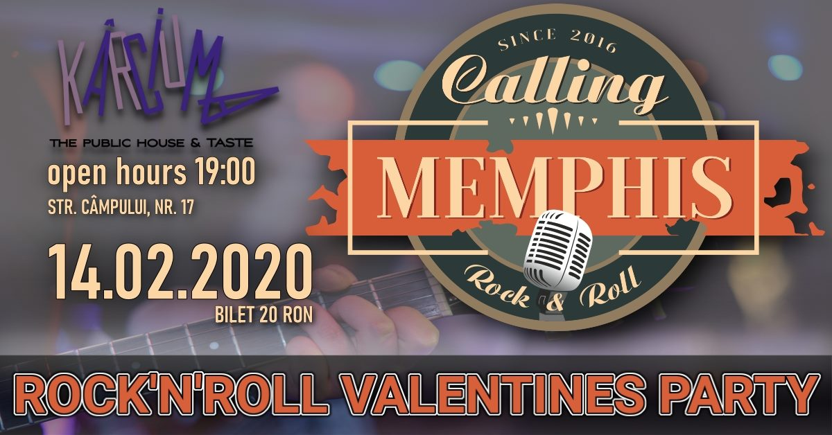 Calling Memphis – Rock 'N' Roll Valentine's Party