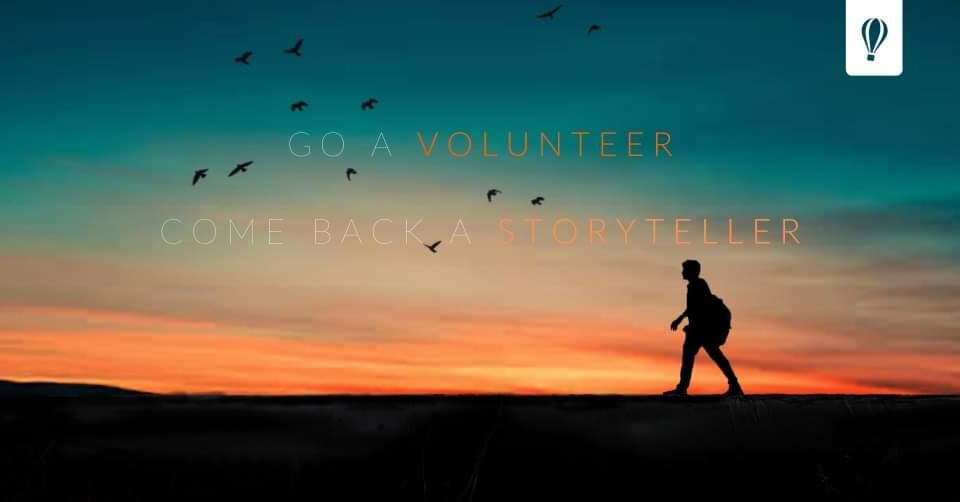 Go a Volunteer, Come Back a Storyteller