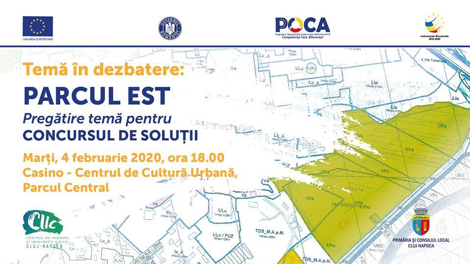 Dezbatere CIIC – Parcul Est – pregătirea concursului de soluții