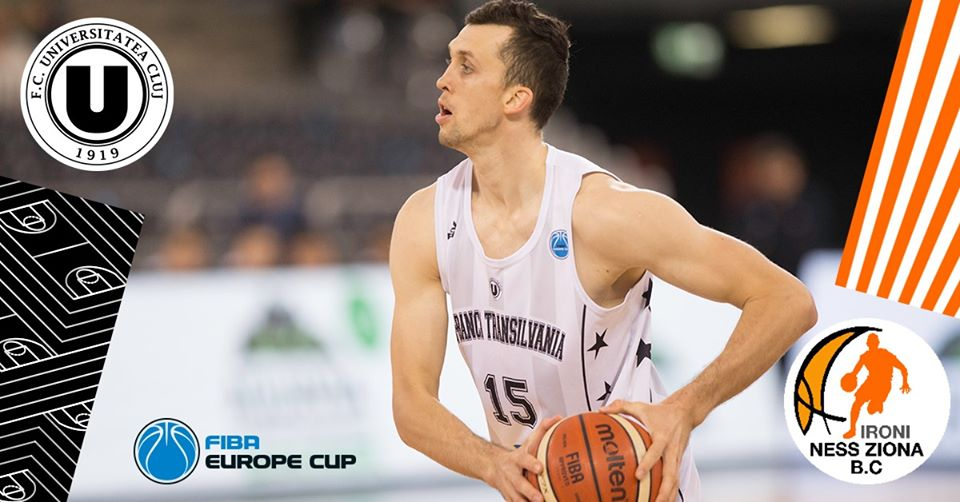 FIBA Europe Cup: U-BT vs. Ironi Ness Ziona