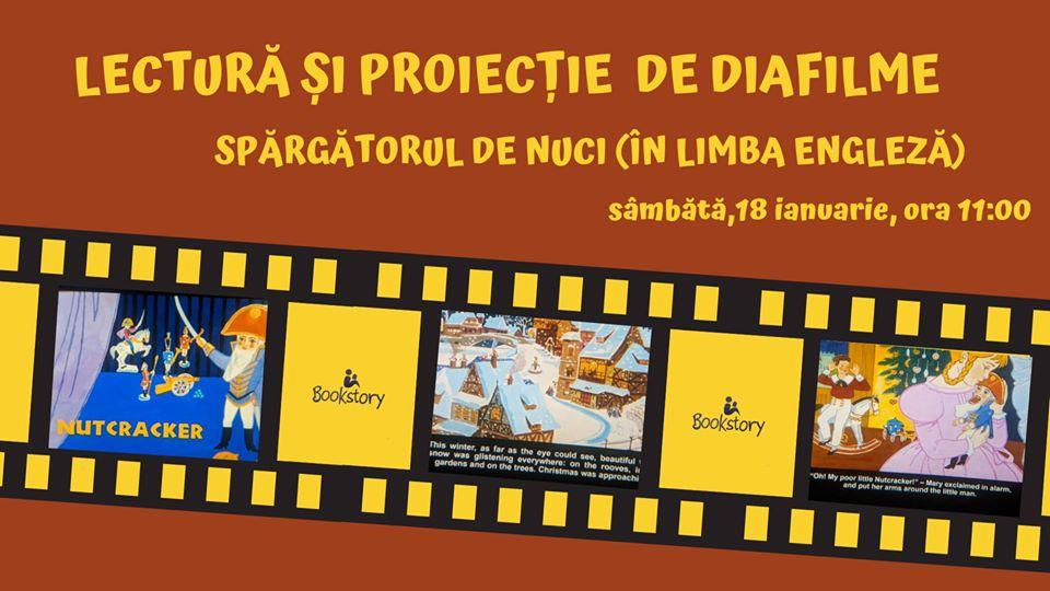Lectură și proiecție de diafilme – Nutcracker
