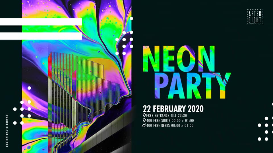 Neon Party @ AfterEight – Cocktail Club