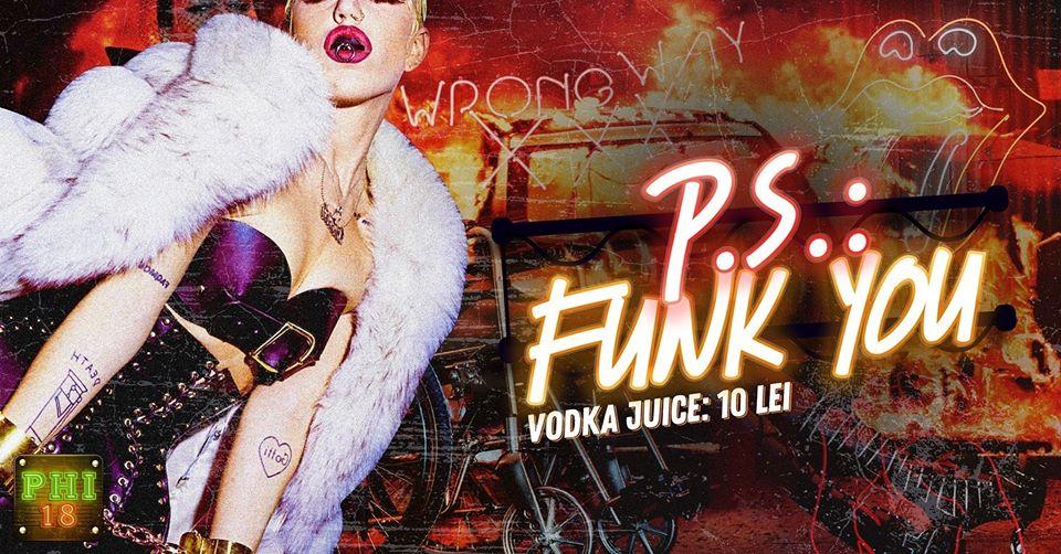 P.S. : Funk You