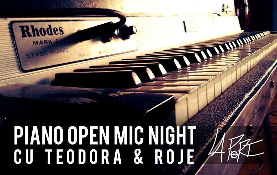 Piano Open Mic Night – 1st 2020 edition