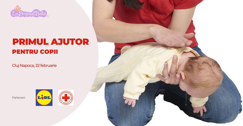 Primul ajutor pentru copii – Cluj