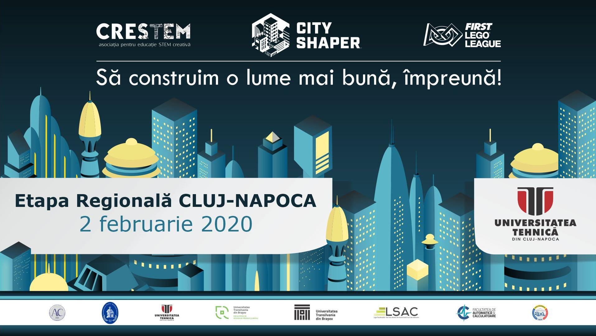 Regionala Cluj-Napoca – FIRST LEGO League Romania