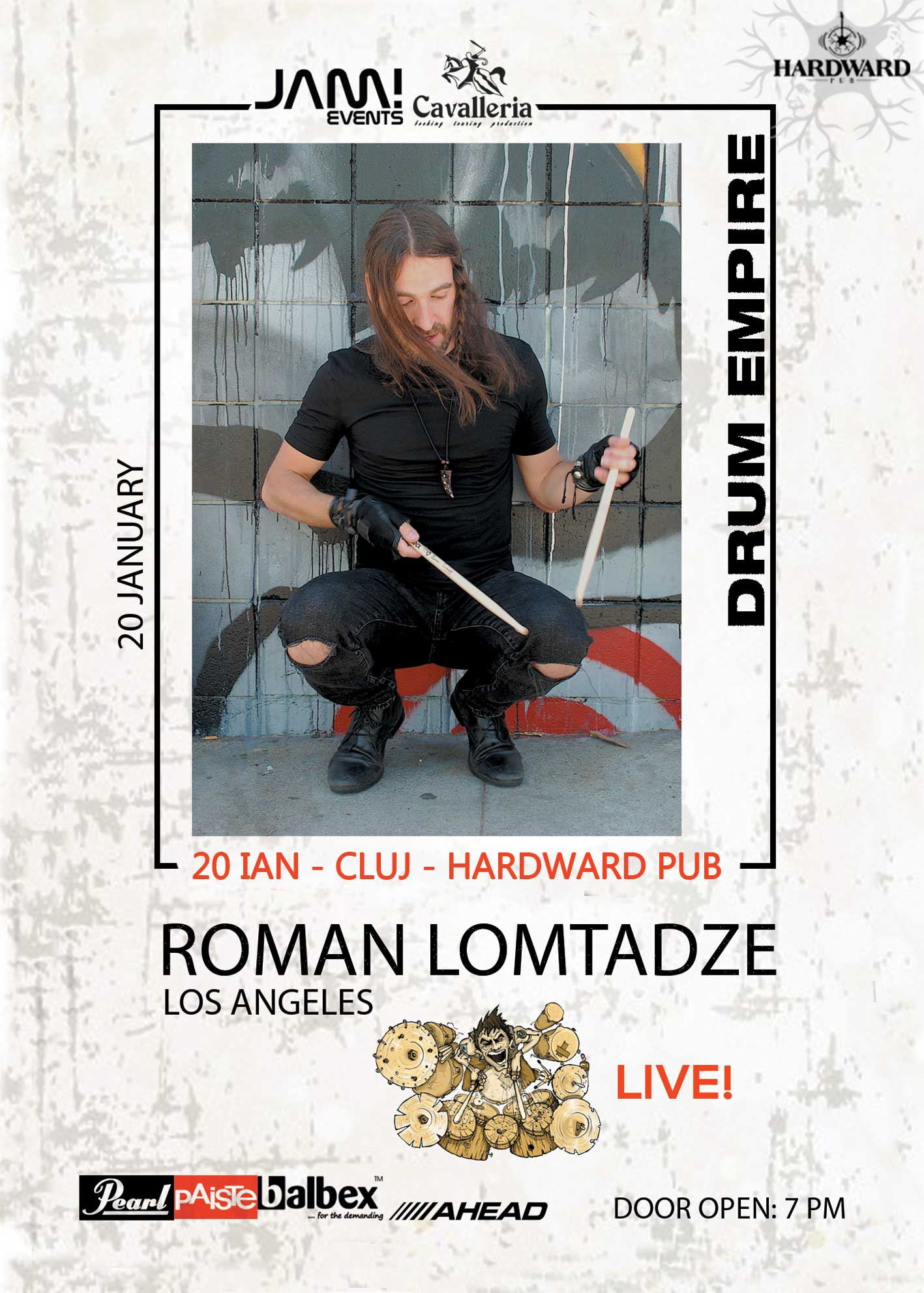 Roman Lomtadze Drum Show from L.A.