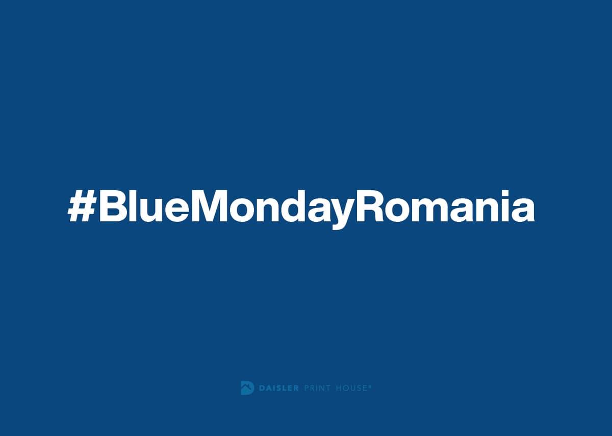 #BlueMondayRomania – ediția a treia