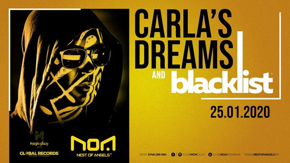 Carla's Dreams & Blacklist @ Club NOA