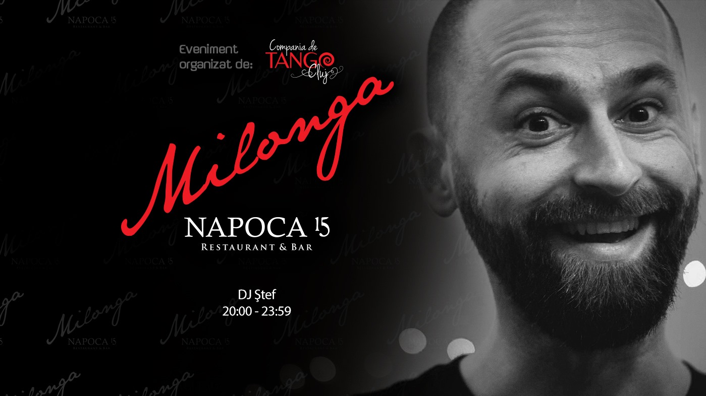 Milonga Napoca 15 – DJ Ștef