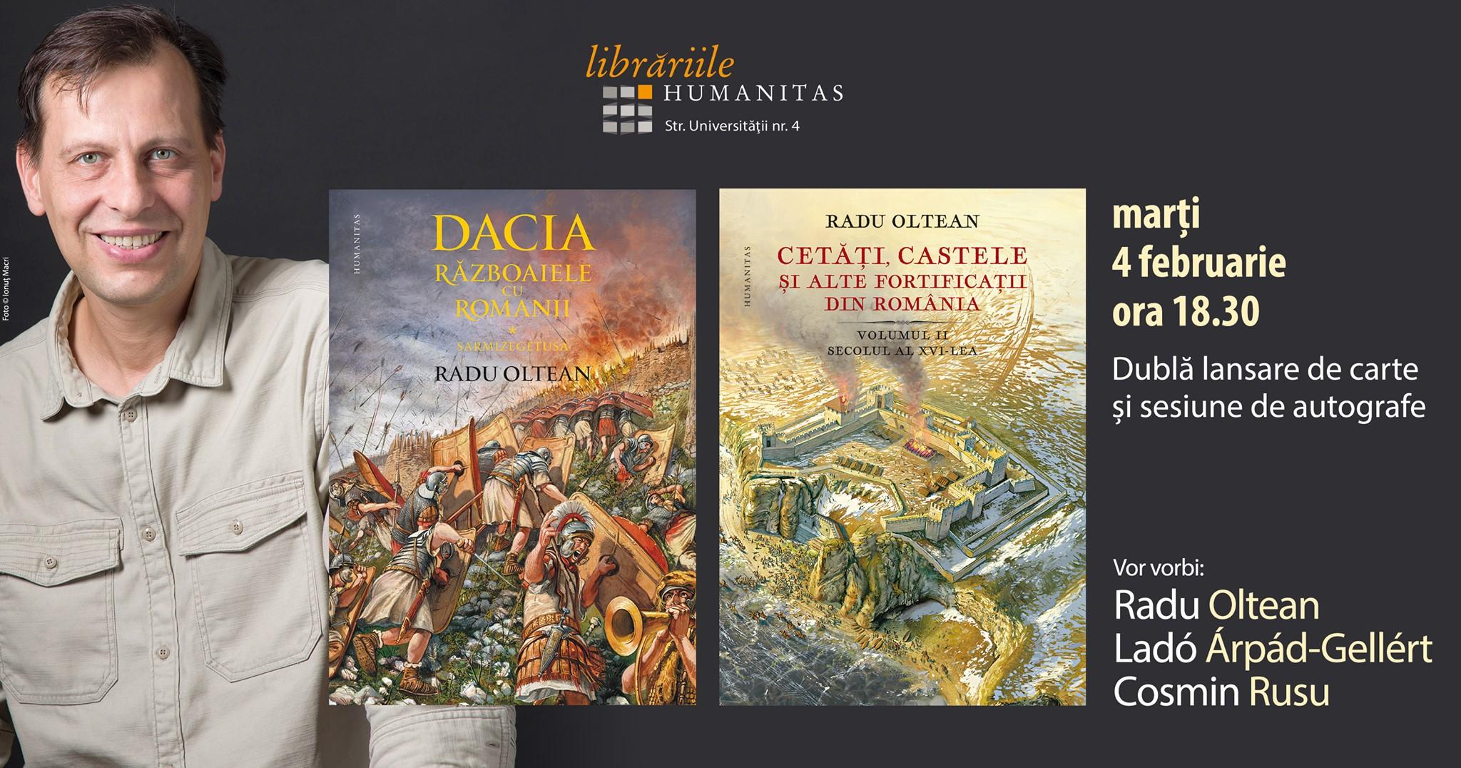 Radu Oltean   Dacia și Cetăți, castele și alte fortificații