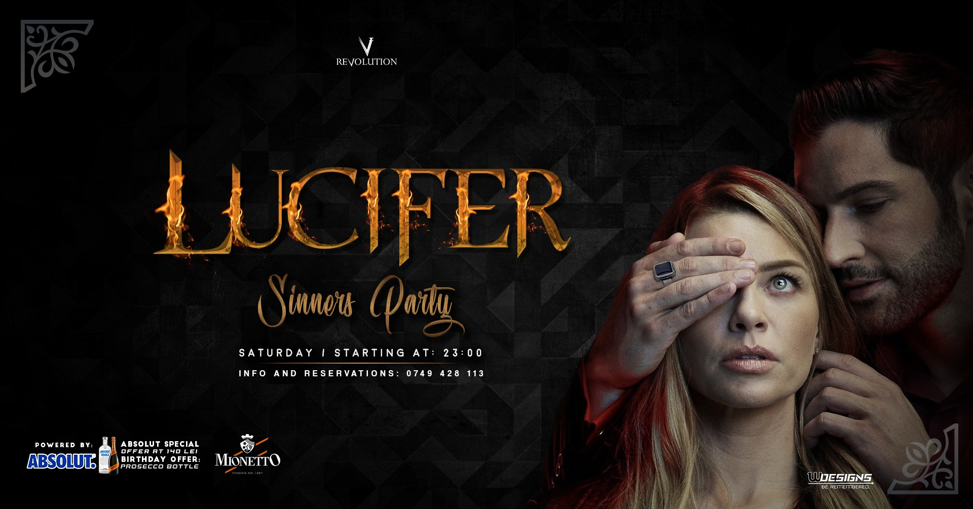 Sinners Party | Lucifer