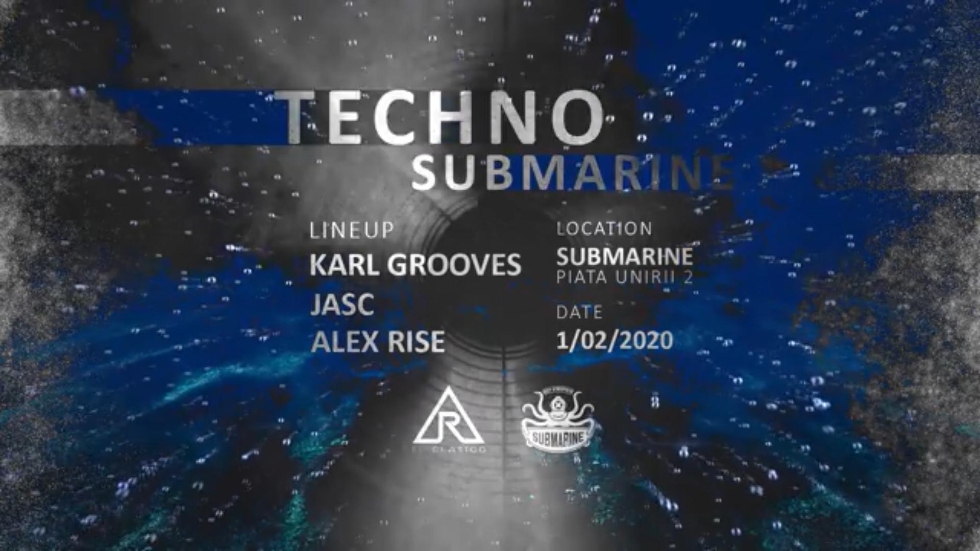 Techno Submarine // by El Clasico